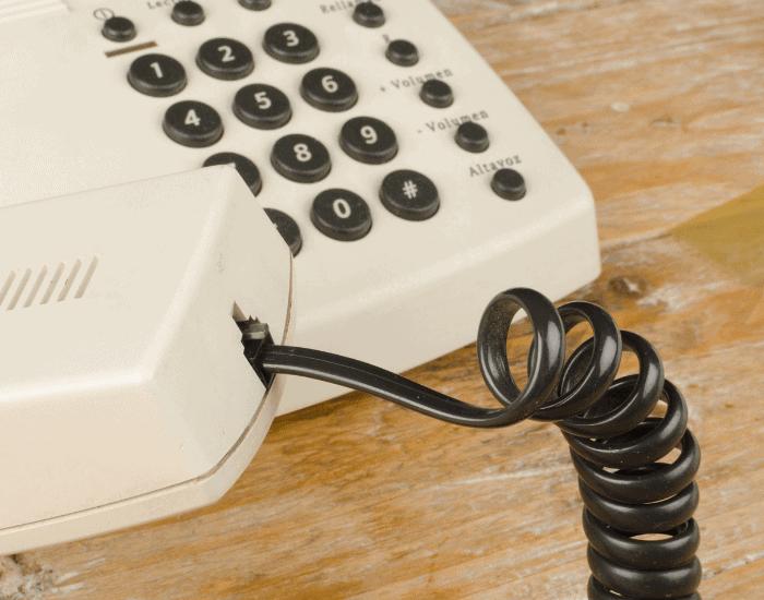 Nettoyage téléphonie fixe entreprise